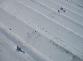 折半屋根塗装 剥離ケレン処理と塗料について