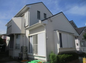【岡崎市S様邸】ラジカル制御型塗料を使用した外壁塗装、屋根塗装