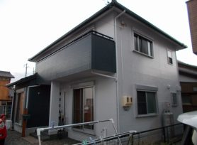【岡崎市I様邸】新築後初めての外壁塗装はフッ素塗料で!