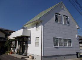 【岡崎市A様邸】高耐久塗料で屋根塗装、外壁塗装を行いました