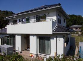 【岡崎市S様邸】外壁塗装の仕上げにクリアトップとかびストップを施工!
