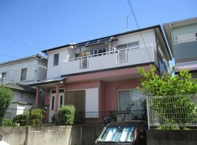 【岡崎市M様邸】遮熱シリコン塗料で外壁塗装、屋根塗装!
