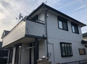 【西尾市I様邸】ラジカル制御型シリコン塗料パーフェクトトップで外壁塗装!