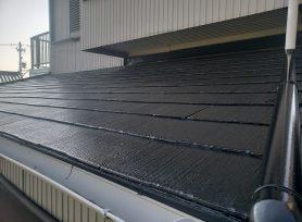 【岡崎市I様邸】水性シリコン塗料ファインシリコンベストで屋根塗装を行いました!
