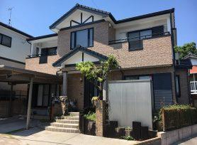 【岡崎市K様邸】シリコン塗料オーデフレッシュSi100Ⅲ、UVプロテクトクリヤーで外壁塗装!