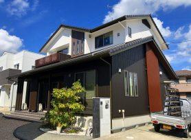 【西尾市T様邸】ラジカル制御型塗料パーフェクトトップ、クリア塗装UVプロテクトクリヤーで外壁塗装!