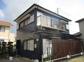 【西尾市S様邸】ラジカル制御型塗料パーフェクトトップで外壁塗装、ファインパーフェクトベストで屋根塗装!