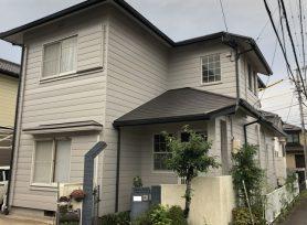 【岡崎市O様邸】シリコン塗料オーデフレッシュSi100Ⅲで外壁塗装、ファインシリコンベストで屋根塗装!