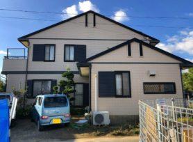 【西尾市M様邸】無機塗料セミフロンスーパーアクアⅡで外壁塗装、シリコン遮熱塗料クールくんマイティーシリコンで屋根塗装!