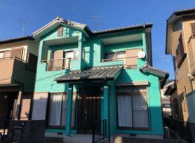 【岡崎市K様邸】フッ素塗料セミフロンアクアで外壁塗装を行いました!