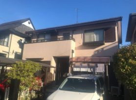 【西尾市M様邸】ラジカル制御型塗料パーフェクトトップで外壁塗装を行いました。