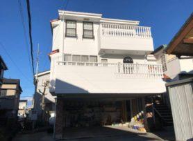【岡崎市D様邸】シリコン塗料インディフレッシュセラで外壁塗装!