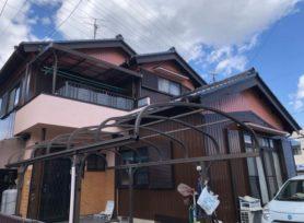 【岡崎市K様邸】ラジカル制御型塗料ファインパーフェクトトップで外壁塗装を行いました!
