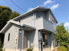【西尾市O様邸】シリコン塗料オーデフレッシュSi100Ⅲで外壁塗装を行いました!