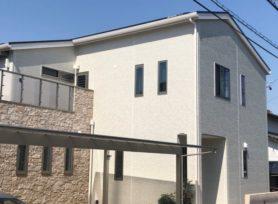 【西尾市H様邸】無機塗料セミフロンスーパーマイルドⅡで外壁塗装、無機塗料セミフロンスーパールーフⅡで屋根塗装!