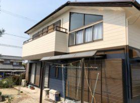 【西尾市Y様邸】シリコン塗料オーデフレッシュSiIIIで外壁塗装、ラジカル制御型塗料ファインパーフェクトベストで屋根塗装!