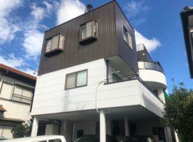 【岡崎市T様邸】フッ素塗料セミフロンマイルドとセミフロンアクアで外壁塗装を行いました!