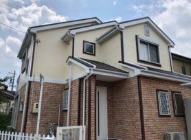 【西尾市K様邸】ラジカル制御型塗料パーフェクトトップで外壁塗装、フッ素塗料セミフロンルーフで屋根塗装!