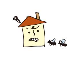 シロアリによる被害の見分け方と対策とは?|岡崎市・西尾市の外壁塗装専門店カナルペイント