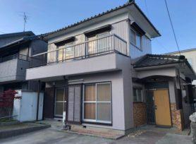 【西尾市S様邸】無機塗料セミフロンスーパーマイルドⅡで外壁塗装を行いました!