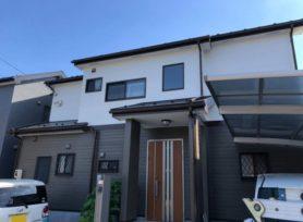 【高浜市O様邸】ラジカル制御型塗料パーフェクトトップで外壁塗装、フッ素塗料セミフロンルーフⅡで屋根塗装!