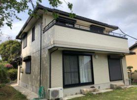 【西尾市O様邸】フッ素塗料セミフロンアクアで外壁塗装を行いました!