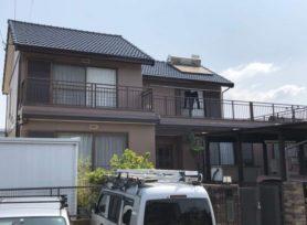 【西尾市T様邸】ラジカル制御型塗料パーフェクトトップで外壁塗装、フッ素塗料セミフロンルーフⅡで屋根塗装!