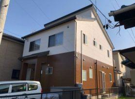 【岡崎市Y様邸】ラジカル制御型塗料パーフェクトトップで外壁塗装、ラジカル制御型塗料ファインパーフェクトベストで屋根塗装!