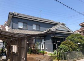 【西尾市T様邸】ラジカル制御型塗料ファインパーフェクトトップで外壁塗装を行いました!