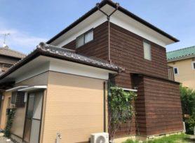 【高浜市S様邸】無機塗料セミフロンスーパーアクアⅡと木材保護塗料キシラデコールアクオステージで外壁塗装を行いました!