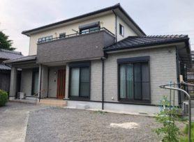【西尾市S様邸】無機塗料セミフロンスーパーマイルドⅡクリヤーで外壁塗装を行いました!