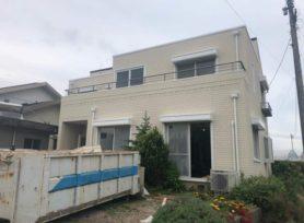【西尾市T様邸】無機塗料ビーズコート無機で外壁塗装、スーパーガルテクトで屋根カバー工事!