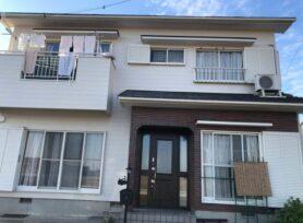 【西尾市K様邸】フッ素塗料セミフロンアクアⅡ遮熱で外壁塗装を行いました!