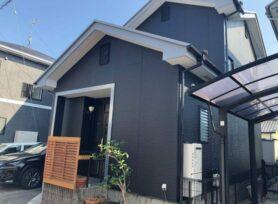 【岡崎市T様邸】ラジカル制御型塗料パーフェクトトップで外壁塗装、遮熱断熱塗料キルコで屋根塗装!