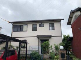 【岡崎市S様邸】ラジカル制御型塗料パーフェクトトップで外壁塗装、無機塗料MUGA sevenで屋根塗装!
