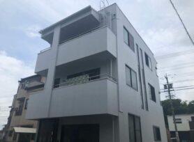 【岡崎市M様邸】無機塗料セミフロンスーパーアクアⅡで外壁塗装を行いました!
